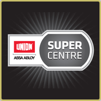 Union-Super-Centre logo with black background.